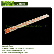 High quality wooden Paint Mixing Stirrer With hand curve