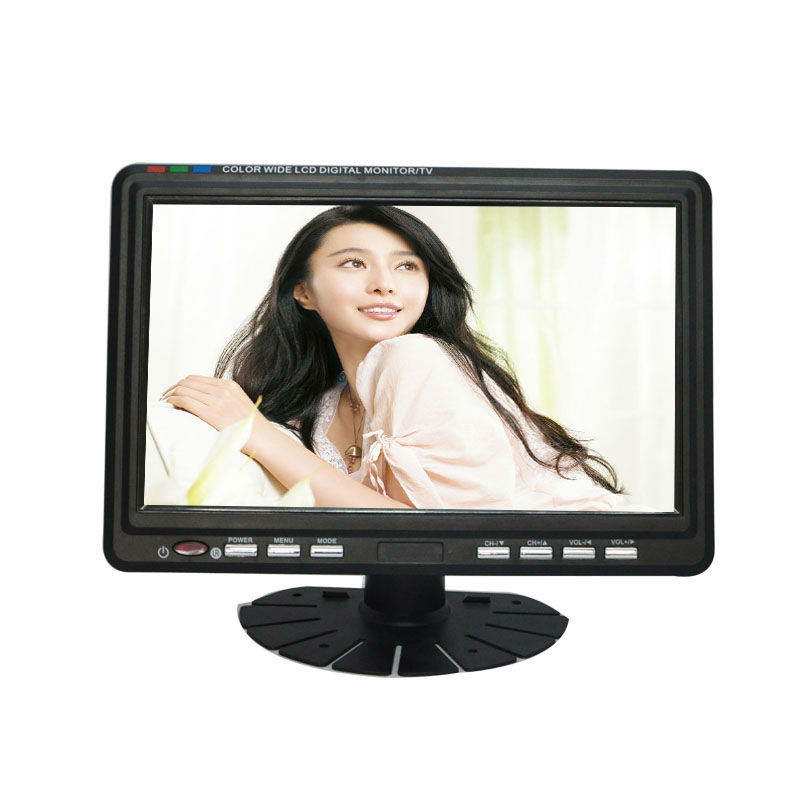 Built-in stereo speaker 9 inch LCD Color Analog Portable TV