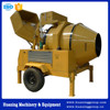 Reliable Driving Self Loading Mobile Diesel Engine Concrete Mixer