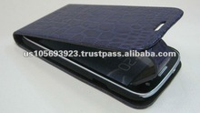 Folio stylish pattern leather cell phone cover for Sumsang I9300 Galaxy S 2 S3