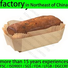 Factory Sale Eco Friendly Disposable Wood Baking Pan