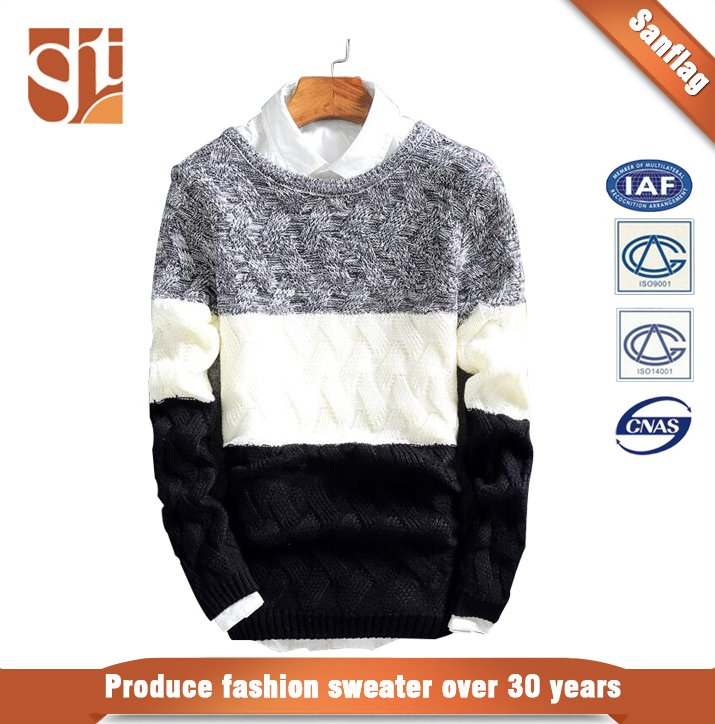 Best selling latest sweater designs for men,mens latest design winter sweater wholesale China manufacturer
