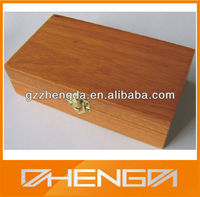 High Quality Customized Made-in-China Rectangular Wooden Box(ZDW13-Z030)