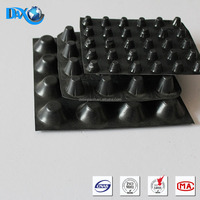 Polypropylene hdpe dimple drainage board for green roof
