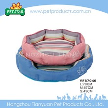 High Quality New Design Plush Boat Pet Dog Bed