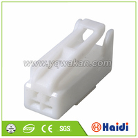 automotive electrical plastic housing 2 pin female male power cord connector