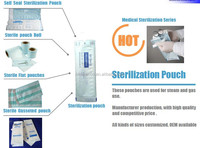 China Supplier Self Sealing Sterilization Pouches Medical Paper and Film