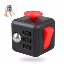 2017 Hottest Item Anti Stress 6 Sides Fidget Cube Newest Fidget Cube Magic Cube