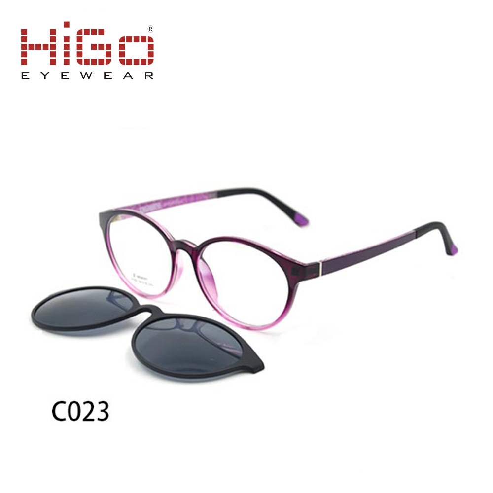2018 Women Fashion Sunglasses Tr90 Clip-on Optical Frame With ...