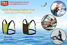 2015 water sports LED warning indicator vest