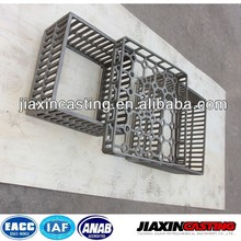 Stainless steel casting heat treatment fixtures