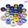 Gr5 Titanium Valve Spring Retainer Seat with High Hardness3.0*3.0*0.7