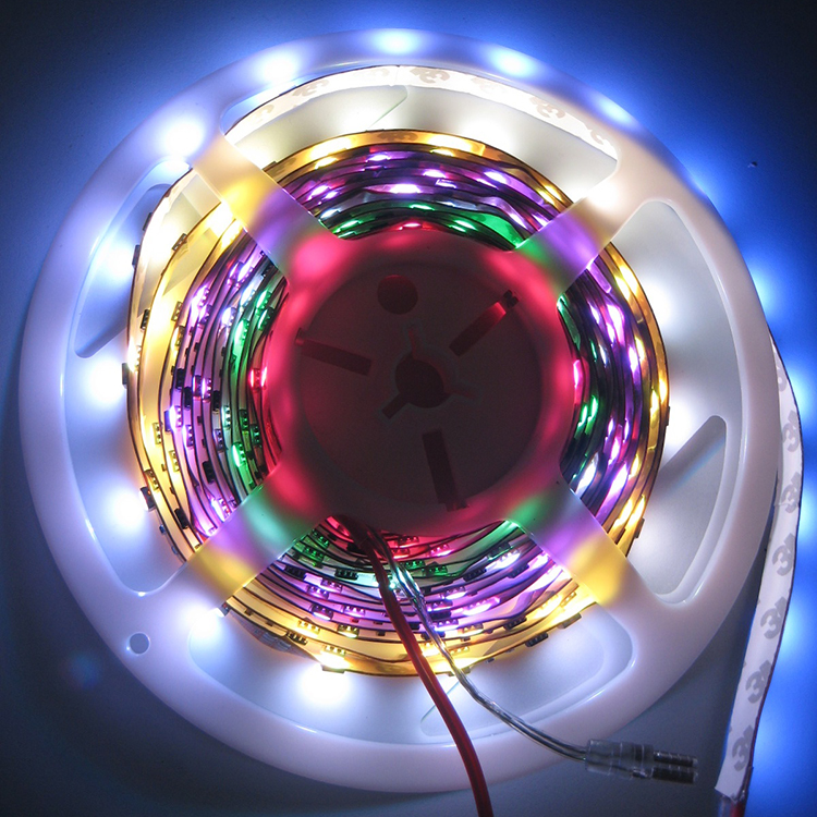 5050 flexible waterproof rgb led strip 24v dmx swimming pool lighting