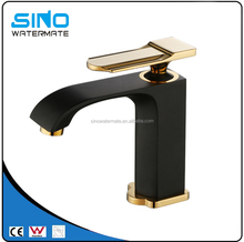 Australia spain sedal black single hole wash faucet