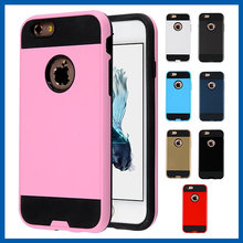 C&T 2in1 Design Pc+ Silicone Hybrid High Impact Defender Case Combo Hard Soft Cases Covers for iPhone 6