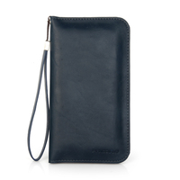 "Universal wallet PU leather case for 5"" to 6"" phone , for iphone cover"