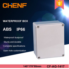 Solid cover abs customizable 140*140*95mm ip66 plastic marine waterproof box
