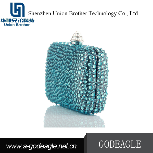 Wholesale Custom china supplier crystal evening bag