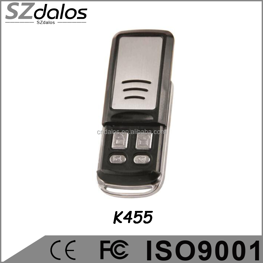 Up and down button 433mhz best power gate remote control universal
