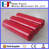 High Load Capacity Troughing Steel Tube Belt Conveyor Roller For Idler Conveyor System