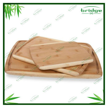 3pcs beauty bamboo cutting board