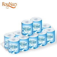 Core standard roll softwood pulp sheets toilet tissue paper