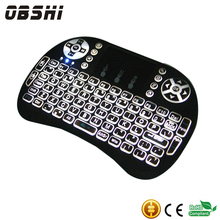 Air Fly Mouse Rechargeable Mini Wireless I8 Backlit keyboard