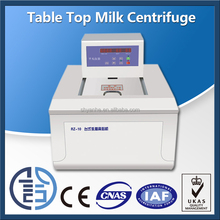 Table top milk fat lab centrifuge testing machine