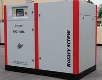 60hp industrial direct driven screw air compressor