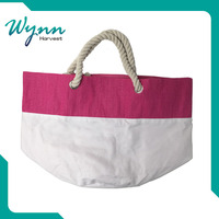 China supplier wholesale cotton fabric canvas shopping bag