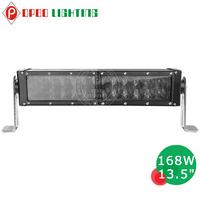 4x4 atv offroad 13.5'' 168w led bar light