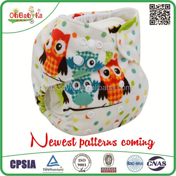 Ohbabyka newborn oem softcare reusable jc trade cloth diapers