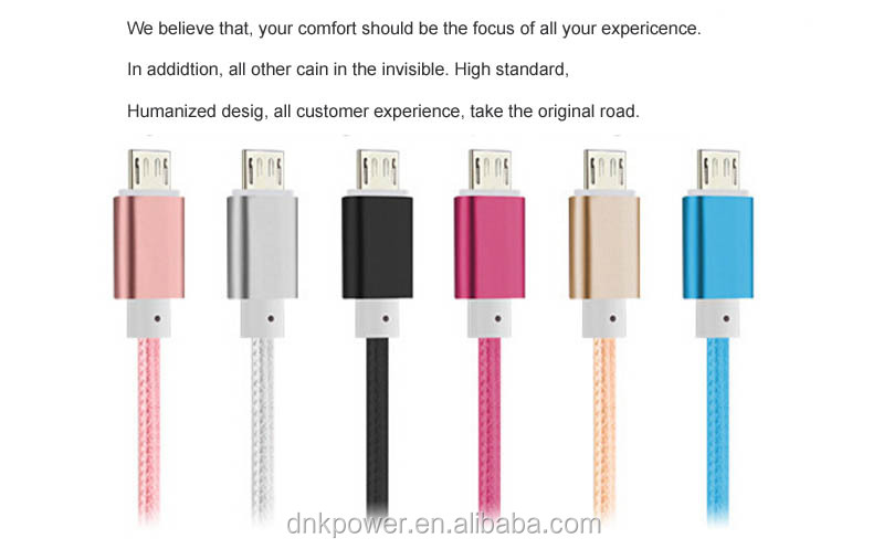High quality Usb multi charger cable, daba magnetic cable with Micro usb .