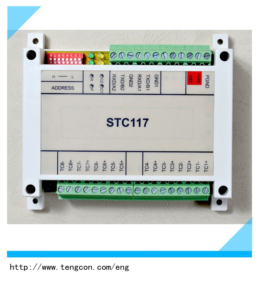 high-performance Industrial Modbus RTU TENGCON STC-117 rs485 data logger