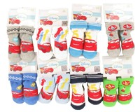 Slipper/Socks Cars from 0 to 12 months