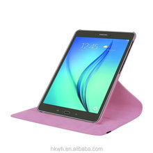 Hight quality 9.7 Inch tablet PU case with elastic for Samsung Tab S