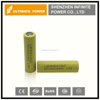 High quality authentic LG HE4 18650 35Amps max.discharge 2500mah li-ion battery with flat top for vape mod for wholesale