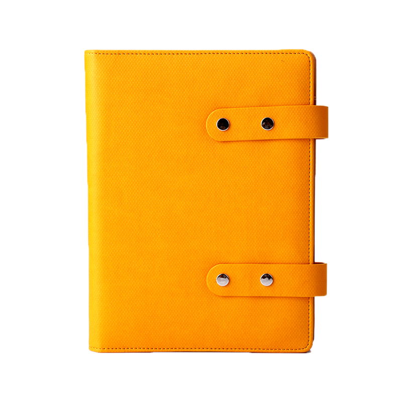A5 Refilllable Pu Leather Agenda Notebooks