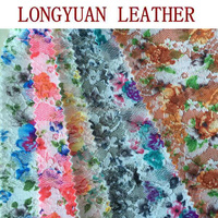 Fashion lace use for shoes upper leather material