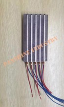 Electric PTC heating element for hand dryer