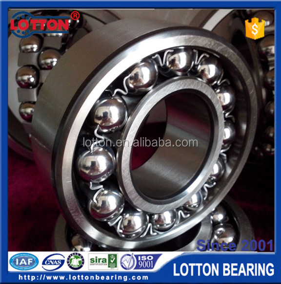 High quality chinese supplier LOTTON 1213 Self-aligning Ball Bearing