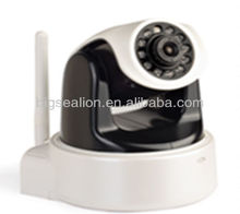 Pan Tilt 1 Megapixel ROHS Comform Small Wireless Camera IP Cctv