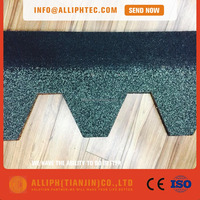 Competitive Price Waterproof Roofing Material Colored Fiberglass Tire Asphalt Shingles