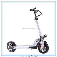 handle control big tire 10 inch 2 wheel powered kick scooter cheap electric scooter for adults