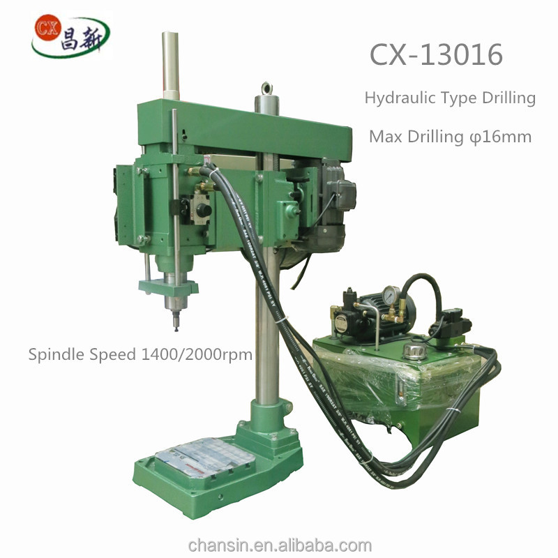 Chansin OEM individual design multi spindle metal cabinet hinge drilling machine for sale CX-13016