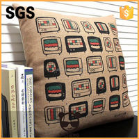 2014 promotional cheap custom printing cushion covers