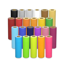 Large Promation Korea Quality PU Heat Transfer Vinyl Roll for Clothing