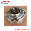 Food grade stainless steel pipe fitting welded union