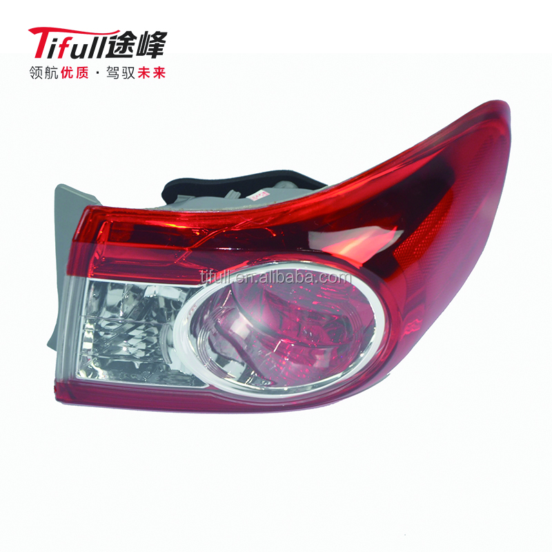 Tail Light Lamp for Toyota Corolla 2010 ZRE153 3ZRFE RH 81551-02570 LH 81561-02570 Body Parts Factory