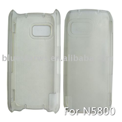 crystal case for Nokia 5800 with one piece design